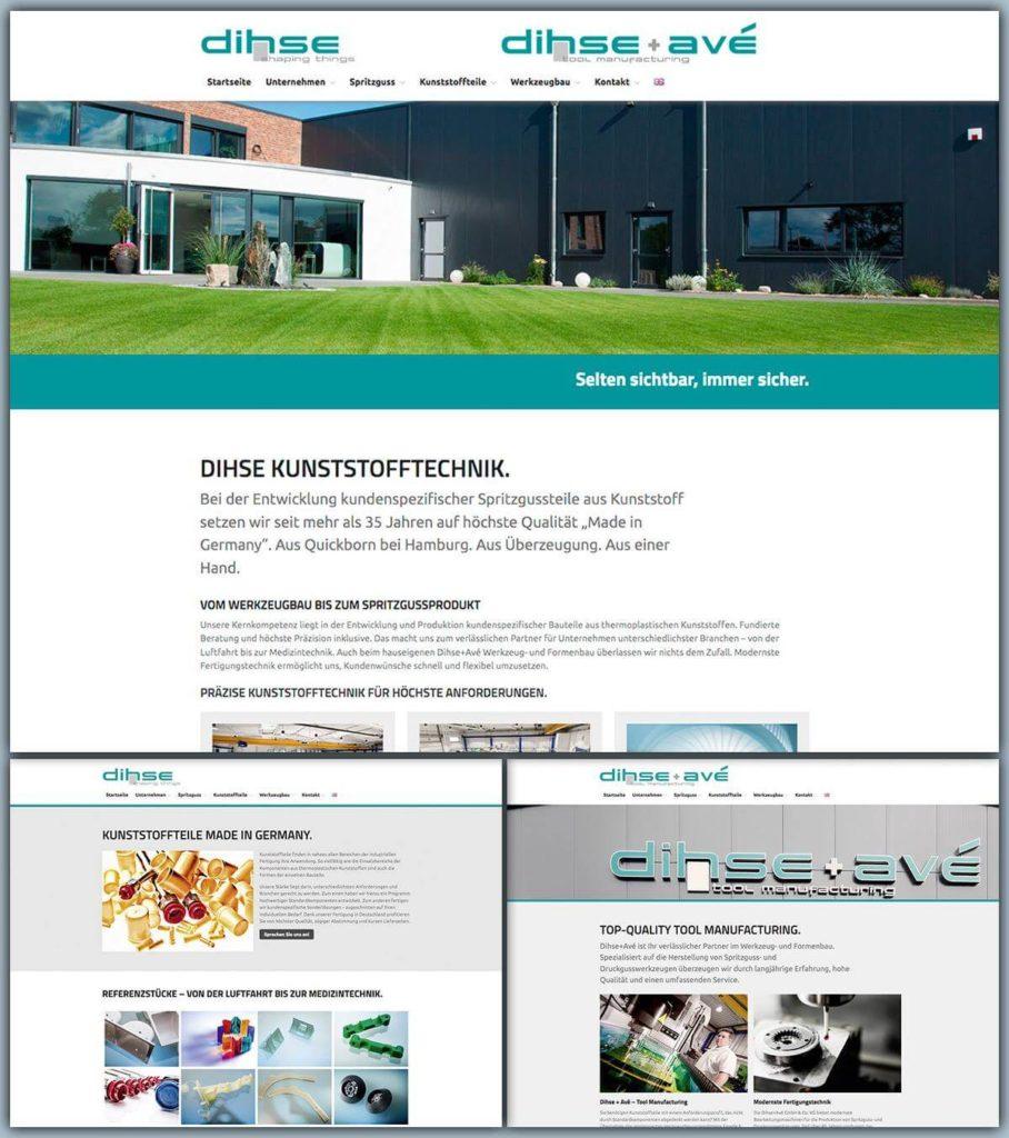 Dihse Webseite 2018
