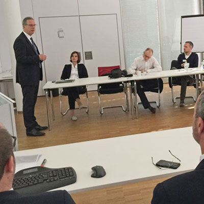 Pressekonferenz der testXpo 2018 bei ZwickRoell