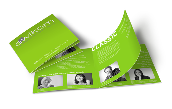 Our communication agency brochure
